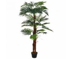 vidaXL Künstliche Pflanze Palme mit Topf Grün 165 cm