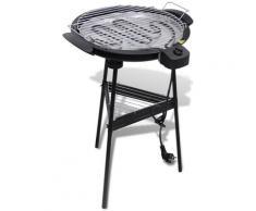vidaXL Grill BBQ Standgrill Barbecue Tischgrill Gartengrill Elektrogrill