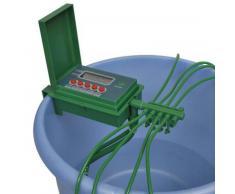 vidaXL Automatisches Bewässerungssystem / Wasser-Sprinkler mit Timer