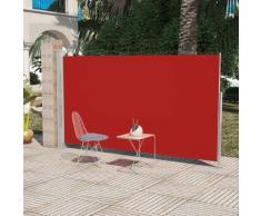 vidaXL Seitenmarkise 180x300 cm Rot