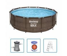 Bestway Swimmingpool-Set Steel Pro Max Rahmen 366 x 100 cm