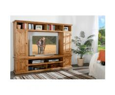 Wohnwand TV-Wand MEXICO, Landhausstil Möbel, Pinie massiv