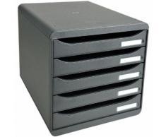 Ablagesystem »Big-Box Plus« grau, EXACOMPTA, 27.8x27.1x34.7 cm
