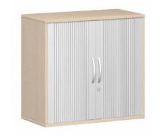 Rollladenschrank »New York« beige, Geramöbel, 80x72x42.5 cm