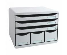Ablagesystem »Storebox Maxi« grau, EXACOMPTA, 35.5x27.1x27 cm