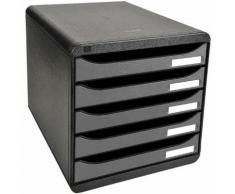 Ablagesystem »Big-Box Plus« silber, EXACOMPTA, 27.8x27.1x34.7 cm