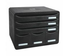 Ablagesystem »Storebox Maxi« schwarz, EXACOMPTA, 35.5x27.1x27 cm