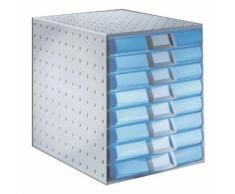 Ablagesystem »The System« blau, EXACOMPTA, 28.4x33.8x38.7 cm