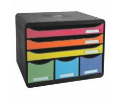 Ablagesystem »Storebox Maxi« farbig sortiert, EXACOMPTA, 35.5x27.1x27 cm