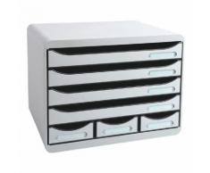 Ablagesystem »Storebox Mini« grau, EXACOMPTA, 35.5x27.1x27 cm