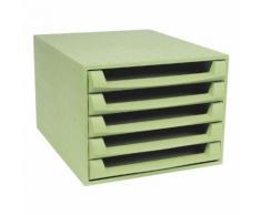 Ablagesystem »The Box Open - Forever« grün, EXACOMPTA, 28.4x21.8x38.7 cm