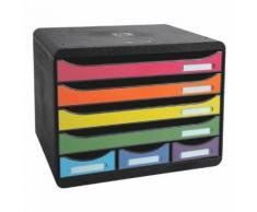 Ablagesystem »Storebox Mini« farbig sortiert, EXACOMPTA, 35.5x27.1x27 cm