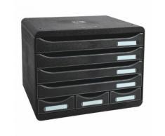 Ablagesystem »Storebox Mini« schwarz, EXACOMPTA, 35.5x27.1x27 cm