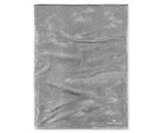 Angorina-Fleece Decke Tom Tailor silber