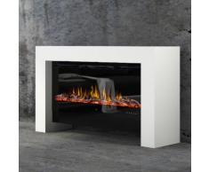 muenkel design bridge [moderner Optiflame Design Elektrokamin]: Wunschfarbe nach RAL - 1550 mm