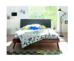 Hasena Soft-Line Bett Noble Ripo/Masi 120x200 cm / Eiche sägerauh