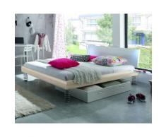 Hasena Soft-Line Bett Noble Lecco/Jump 140x200 cm / Eiche sägerauh