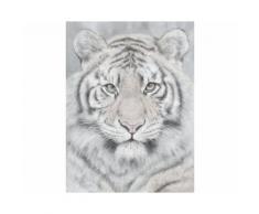 La Casa »Tigerkopf« Ölbild handbemalt 90x120 cm