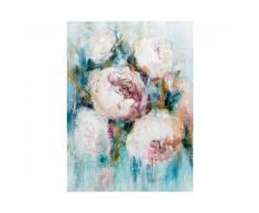 La Casa »Rosenblüten« Ölbild handbemalt 90x120 cm