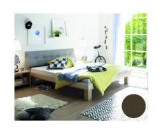 Hasena Soft-Line Bett Noble Ivio/Ronna 120x200 cm / Eiche sägerauh