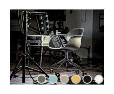 infiniti SICLA Swivel Designer-Drehstuhl AL31 Schwarz matt lackiert /