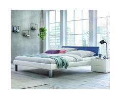 Hasena Soft-Line Bett Noble Caro/Lenio 120x200 cm / Eiche sägerauh