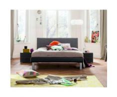 Hasena Soft-Line Bett Noble Caro/Malta 100x200 cm / Eiche sägerauh