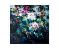 La Casa »Blumenwiese abstrakt bunt mix« Ölbild handbemalt 100x100 cm