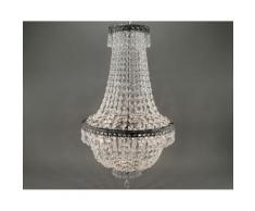 VOSS Design »Kristall« Deckenleuchte 3-flammig antik-zink