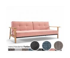 Innovation »Splitback Frej« Klappsofa 517 Elegance Light Grey