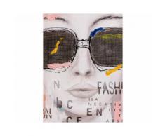 La Casa »Dame mit Sonnenbrille modern« Ölbild handbemalt 90x120 cm