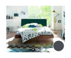 Hasena Soft-Line Bett Noble Fasio/Ripo 120x200 cm / Eiche sägerauh