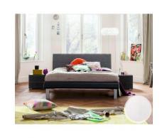Hasena Soft-Line Bett Noble Caro/Malta 180x200 cm / Eiche sägerauh