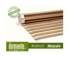 Dormiente Rollrost Massiv metallfrei 210/220 x 80 cm