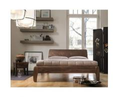 Dormiente Massivholz-Bett Gonda Kirschbaum 120x200 cm