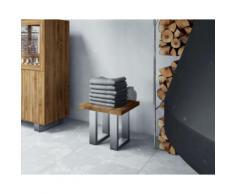 The Beds Steel Massivholz Beistelltisch 2208 / 50x80 cm / Buche