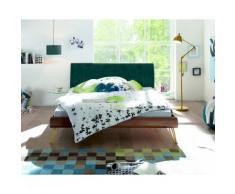 Hasena Soft-Line Bett Noble Fasio/Ripo 140x200 cm / Eiche sägerauh