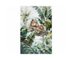 La Casa »Gepard in Dschungel« Ölbild handbemalt 100x150 cm