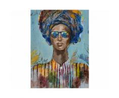 La Casa »Lady mit Sonnenbrille abstrakt« Ölbild handbemalt 90x120 cm