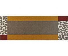 Läufer, Florita, wash+dry by Kleen-Tex, rechteckig, Höhe 7 mm, gedruckt, beige
