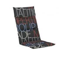 Kettler KTH 7 Polsterauflage für Sessel 121x50x6 cm - Dessin 777