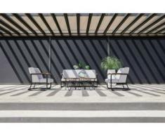 Hartman Studio 54 Lounge Set 4tlg. ohne Beistelltische