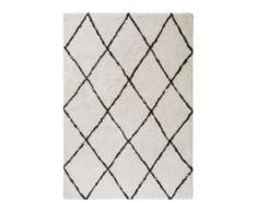 benuta TRENDS Hochflorteppich Gobi Cream 80x150 cm - Berber Teppich