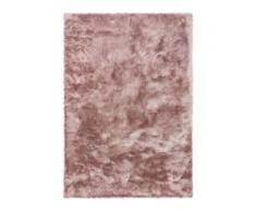 benuta ESSENTIALS Hochflor Shaggyteppich Whisper Rosa 160x230 cm - Langflor Teppich für Wohnzimmer