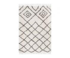 benuta TRENDS Hochflorteppich Ebba Beige 140x200 cm - Berber Teppich