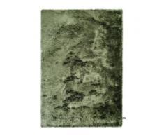 benuta ESSENTIALS Hochflor Shaggyteppich Whisper Grün 120x170 cm - Langflor Teppich für Wohnzimmer