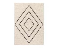 benuta ESSENTIALS Hochflorteppich Beni Cream 120x170 cm - Berber Teppich