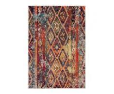 benuta Teppich Casa Multicolor 160x230 cm - Vintage Teppich im Used-Look
