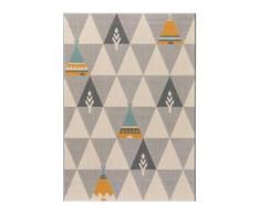 benuta KIDS Kinderteppich Juno Beige 120x170 cm - Teppich für Kinderzimmer