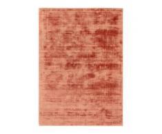 benuta ESSENTIALS Viskoseteppich Nova Kupfer 120x170 cm - Moderner Teppich für Wohnzimmer